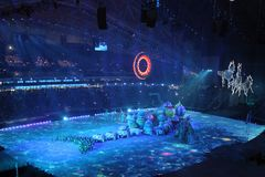 The opening ceremony Royalty Free Stock Photography