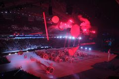 The opening ceremony Royalty Free Stock Images