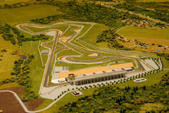 Opening of the construction of Moscow Raceway Stock Photo
