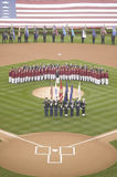 Opening Day Ceremonies Stock Photo