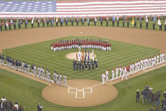 Opening Day Ceremonies Stock Photos