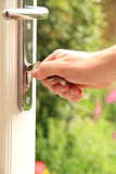 Opening door Royalty Free Stock Photography