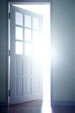 Opening door. Stock Photography