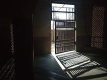 The opening door. Stock Photography