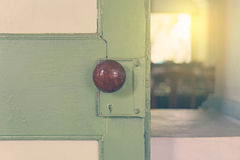 Opening the door to the light Royalty Free Stock Photography