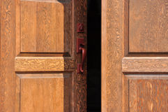 Opening doors Royalty Free Stock Images