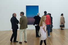 Opening of exhibition Wolfgang Tillmans - On The Verge Of Visibility Royalty Free Stock Image