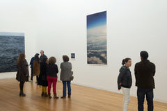 Opening of exhibition Wolfgang Tillmans - On The Verge Of Visibility Royalty Free Stock Photo