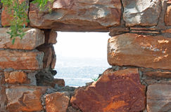 Free OPENING IN WALL OF OLD FORT Stock Photos - 98081573
