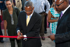 Opening of the International Fair in Cape Verde Stock Photos