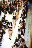 Opening of lingerie shop La Perla Stock Image