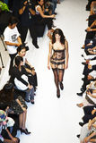 Opening of lingerie shop La Perla Stock Photos