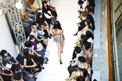 Opening of lingerie shop La Perla Stock Image
