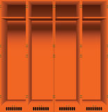 Opening of lockers Stock Photography