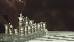 Game Of Chess Opening Move With Horse