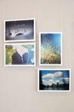 Smena World -2012 Photo exhibition Royalty Free Stock Photography