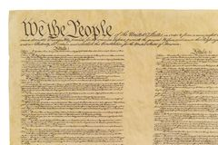 We The People - Straight Front royalty free stock photography
