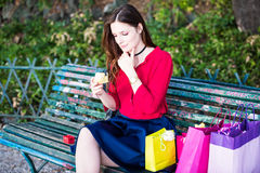 Opening presents or gifts for a special occasion Stock Photography