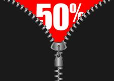 Opening sale Royalty Free Stock Images