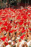 Opening of San Fermin Festival Royalty Free Stock Photos