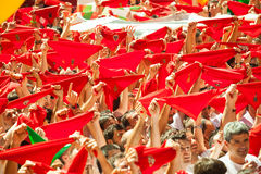 Opening of San Fermin Festival Stock Photo