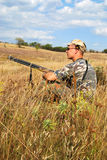 Opening of season of hunt Stock Image
