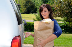 Opening Tailgate Royalty Free Stock Photos