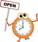 Opening time Stock Photography
