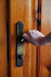 Openings deur Stock Afbeelding