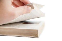 Openings oud boek Stock Afbeelding