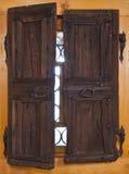 Openings venster Stock Foto