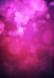 Openings verwarde roze purpere romantische achtergrond Stock Foto's