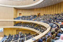 Openingsceremonie van de 50ste Verjaardag van OAU/AU Stock Afbeeldingen