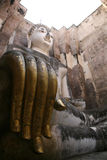 Openingsogenboeddhisme Wat Si Chum, Sukhothai Stock Foto