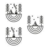 In openlucht 11 vector illustratie