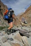 Openlucht activiteit - trekking Royalty-vrije Stock Fotografie