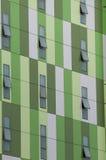 Openlucht architectuur (abstracte muur) Royalty-vrije Stock Foto