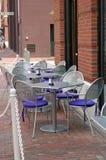Openlucht Cafetaria Stock Afbeeldingen