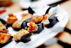 Openlucht catering Voedselgebeurtenissen en vieringen stock foto