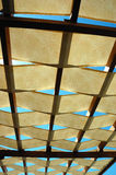 Openlucht dak Stock Foto