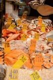 Openlucht fishmarket royalty-vrije stock afbeelding