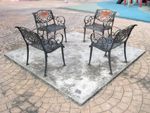 Openlucht Generische Openbare stoelen Royalty-vrije Stock Fotografie