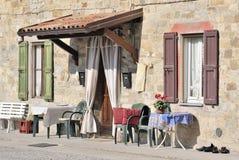 Openlucht het leven Italiaanse stijl royalty-vrije stock afbeelding