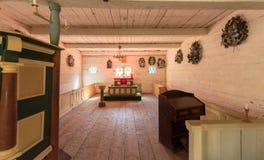 Openlucht het Museumtentoonstelling van Estland royalty-vrije stock fotografie