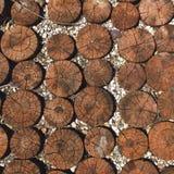 Openlucht houten Royalty-vrije Stock Afbeelding