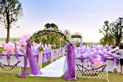 Openlucht huwelijk Royalty-vrije Stock Fotografie