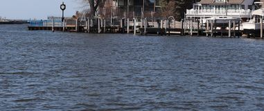 Openlucht, Jachthaven, Meer Michigan, Rivier, Water, Zuidentoevluchtsoord, Vakantie stock foto