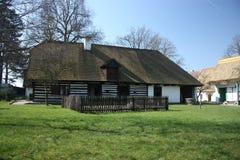 Openlucht museum in Prerov nad Labem Royalty-vrije Stock Afbeeldingen