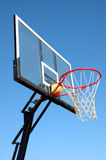 Openlucht netto basketbal Stock Foto