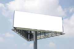 Openlucht reclameaanplakbord Stock Afbeeldingen